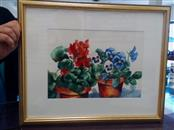 BRENDA BICKERSTAFF STANLEY Painting WATERCOLOR FRAMED AND MATTED 22X18